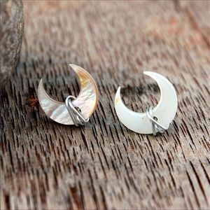 🌙 WRAPPED MOON EARRINGS 🌙